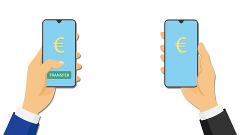 Online payment or transfer Animation