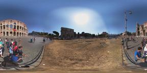 In Front of Rome Colosseum 360° Photo VR 360° Photo