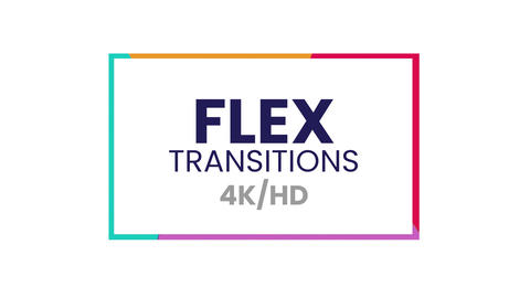 Flex Transitions Presets After Effectsアニメーションプリセット