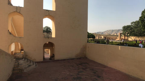 Jaipur, India - interesting historical structure part 3 Live Action