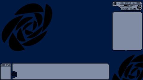 LIVESTREAM BACKGROUND【ROSE BLACK】7 Color + Alpha Channel Set
