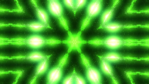 Green laser kaleidoscope影片素材