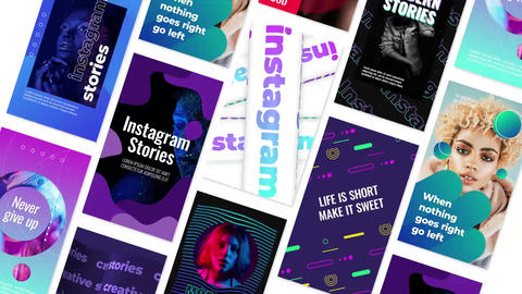 Creative Stories Motion Graphics Template