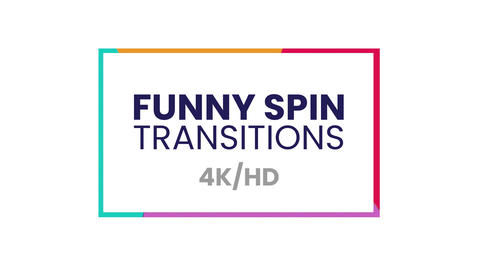 Funny Spin Transitions Presets After Effects Animation Preset