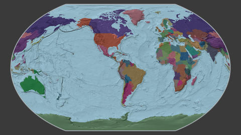 Denmark - hub of the world. Administrative Animation