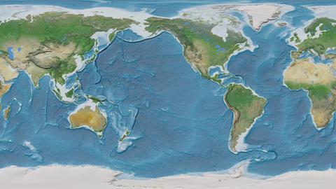 Denmark - hub of the world. Satellite Animation