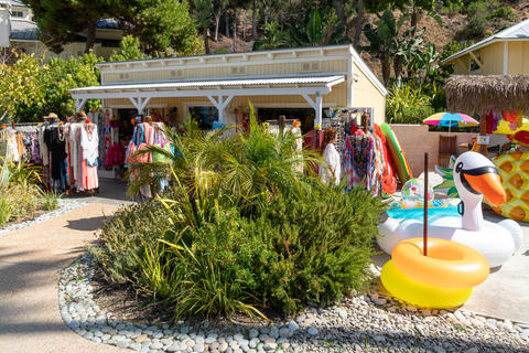 Small little tourist shop at Descanso beach club, Santa Catalina Island. USA Photo