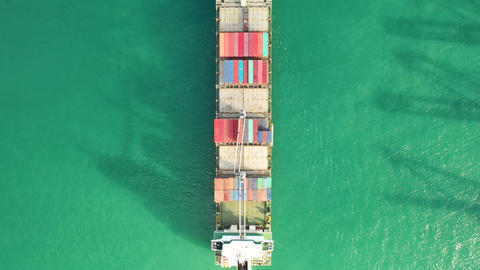 International Containers Cargos ship,Freight Transportation Live Action
