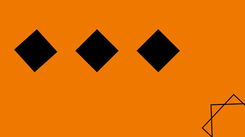 LIVESTREAM BACKGROUND【SIMPLE BLACK OFF FRAME】7 Color + Alpha Channel Set