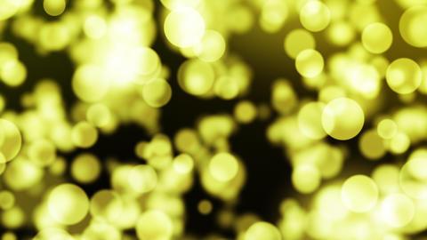 上昇する金色のパーティクル CG動画