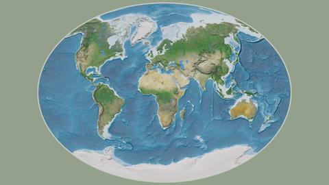 Djibouti - hub of the world. Satellite Animation
