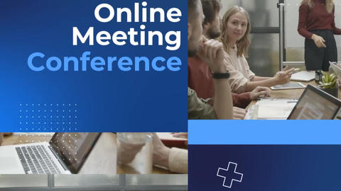Zoom Video Conference Event After Effects Template