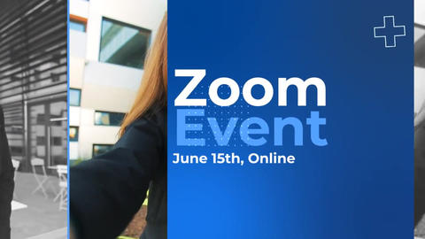 Zoom Video Conference Event Plantilla de After Effects