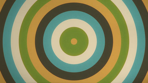 Retro Circle Ripple -Seamless Looping Video Animation