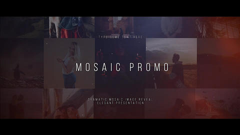 Mosaic Promo Apple Motion Template