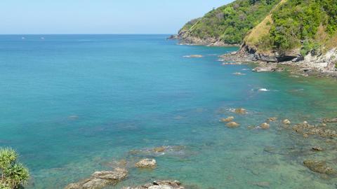 Landscape on Koh Lanta island, Thailand, 4k Footage