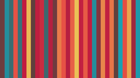 Retro Colors Abstract Background Animation