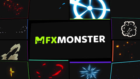 Flash FX Pack Apple Motion Template