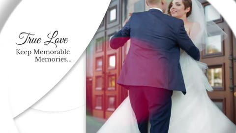 Wedding Clean Slideshow Premiere Pro Template