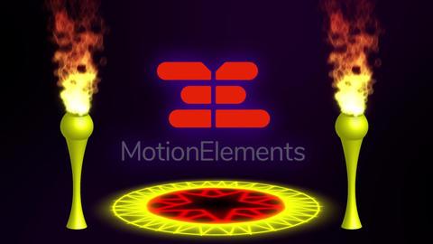 Ceremonial logo animation