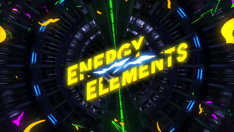 Energy Elements Plantillas de Motion Graphics