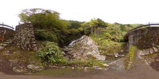【360VR】Yume-no-taki, Falls of Dream, Tokyo Video de realidad virtual (RV) en 360°