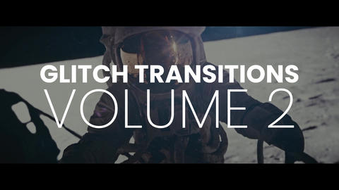 Glitch Transitions Vol2 presets After Effectsアニメーションプリセット