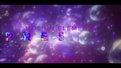 Colorful Cinematic Title After Effects Template