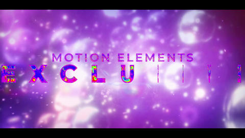 Colorful Cinematic Title Motion Graphics Template