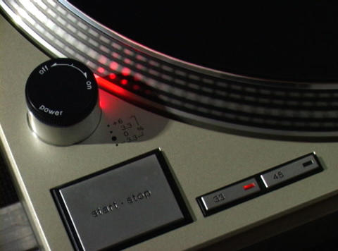 Turntable 2 Stock Video Footage