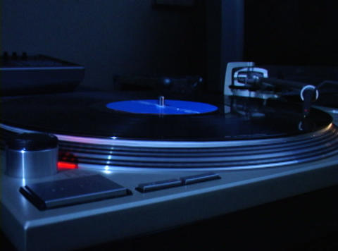 Turntable 4 Stock Video Footage