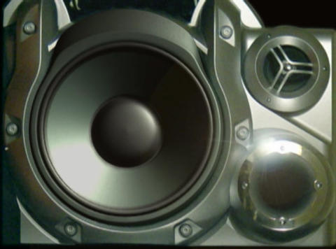 Boom Box 1 Stock Video Footage