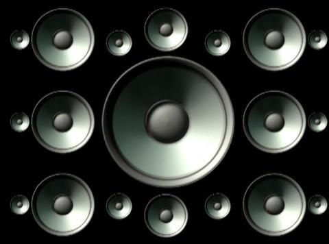 Speaker Grid 2 Stock Video Footage
