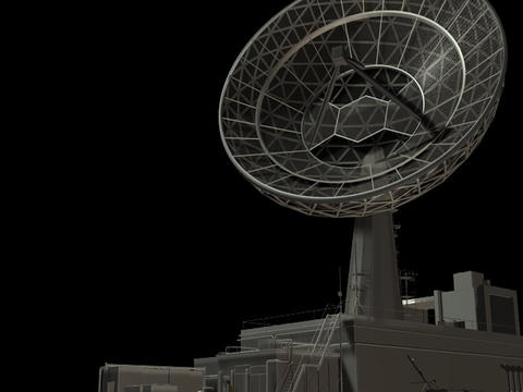 Radio Telescope Loop1 Animation