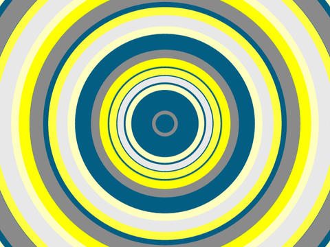 Radio Circles Blues yell2 Stock Video Footage
