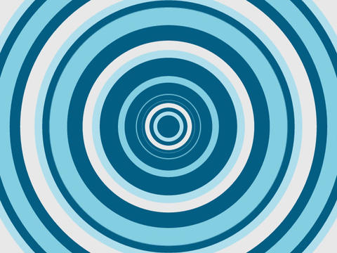 Radio Circles Blues1 Stock Video Footage