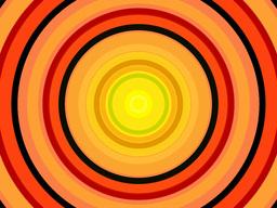 Radio Circles Red OJWarm Stock Video Footage