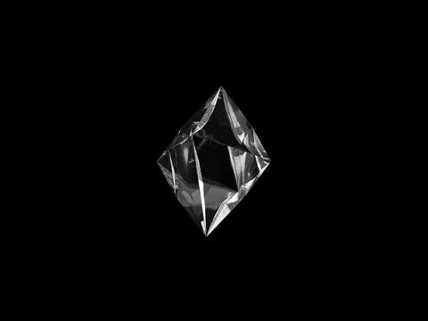 Diamond one Stock Video Footage