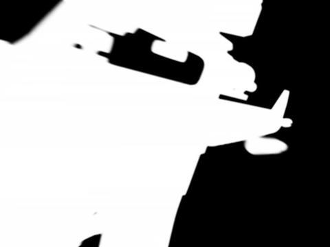 Rifle gun m16 c Stock Video Footage
