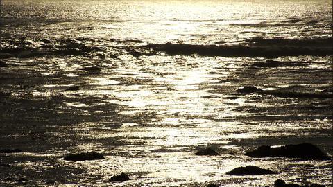 Ocean Golden 2 1 Stock Video Footage