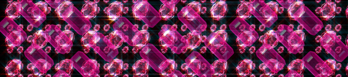 PInk Ruby Array3scr Stock Video Footage