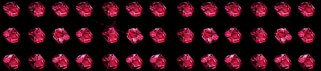 SRC Rubys SANS BG stock footage