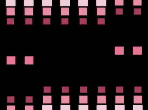 purp Cube pulse(L) Stock Video Footage