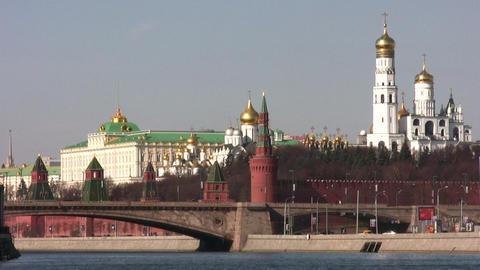 kremlin moscow Stock Video Footage