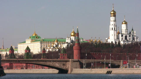 kremlin moscow Stock Video Footage