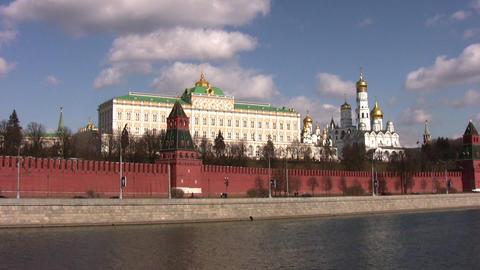 moscow kremlin wall Footage