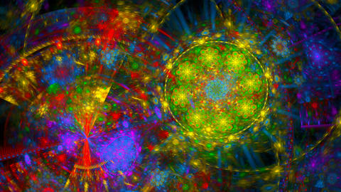 day glow spiral Stock Video Footage