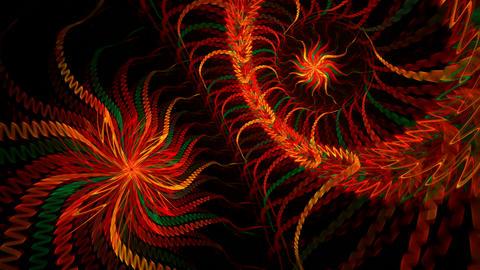Twin spirals Stock Video Footage