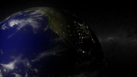 1100 HDjpg EarthLights Animation