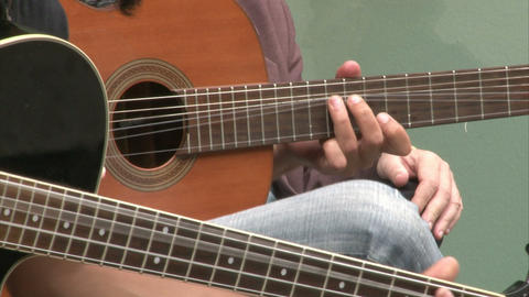 guitarist02 Stock Video Footage